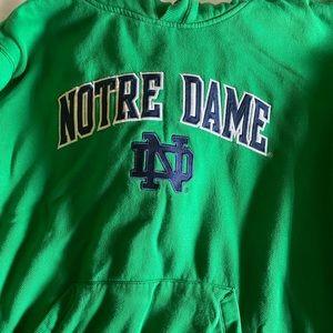 Vintaged Notre Dame hoodie